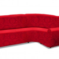 Чехол на классический угловой диван универсальный Богемия Рохо