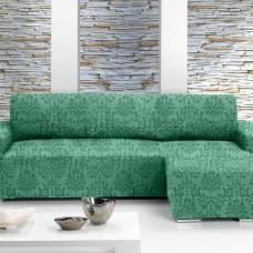 Чехол на угловой диван с выступом справа Европейский Богемия Верде