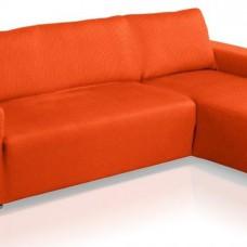 Чехол на угловой диван с выступом справа Европейский Аляска Нарания