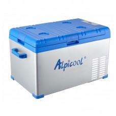 Компрессорный автохолодильник ALPICOOL A30 (30 л.) 12-24-220В синий