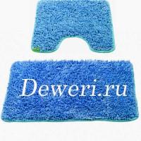 Коврики для ванной и туалета синии AS-02
