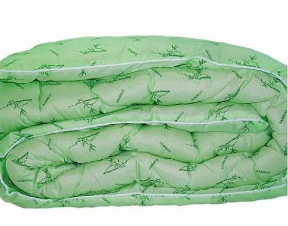 Одеяло из бамбука (Евро). Зимнее. Размер: 200х220см.