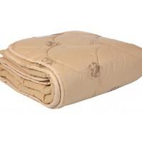 Одеяло из верблюжьей шерсти полуторное. Осенне - весеннее. Размер: 150х210 см.