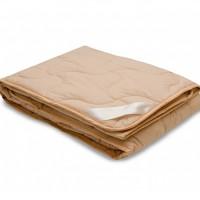 Одеяло из верблюжьей шерсти евро. Летнее. Размер: 200х220 см.