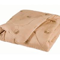 Одеяло из овечьей шерсти LUX евро. Всесезонное. Размер: 200х220 см.
