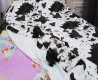 Покрывало на кровать  искусственный мех далматинец  QW-070