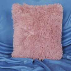 Наволочка декоративная бамбуковая светло-розовая 50х50 см. H-01