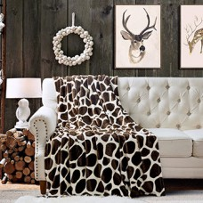 Плед бамбуковый жираф