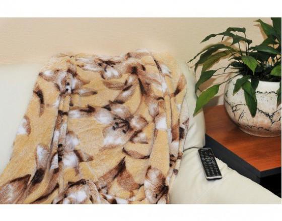 Плед бамбуковый лотос