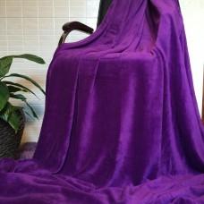 Плед покрывало бамбуковый фиолетовый CC-04
