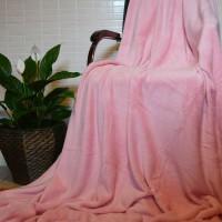Плед покрывало бамбуковый розовый CC-09