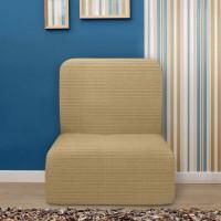 Чехол на кресло без подлокотников универсальный Ибица Беж