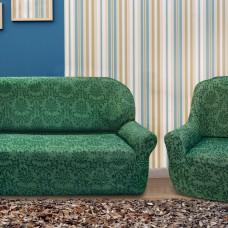 Комплект чехлов на 3-ёх местный диван и два кресла Богемия Верде