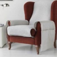 Накидка на кресло Иден светло-серый