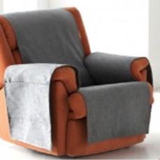 Накидка на кресло Иден темно-серый