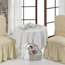 Чехол на стул со спинкой, комплект из 6 шт. натурал X-09