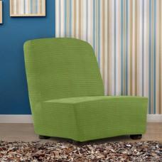Чехол на кресло без подлокотников универсальный Ибица Верде
