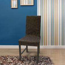 Чехол  на стул со спинкой универсальный бостон Марон (2 шт)