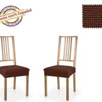АЛЯСКА - МАРОН. Европейский чехол на сиденье стула (2шт)