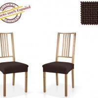 АЛЯСКА - НЕГРО. Европейский чехол на сиденье стула (2шт)