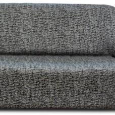 Чехол на двухместный диван универсальный Мальта Негро