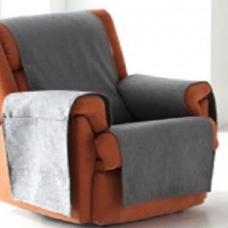 Накидка непромокаемая на кресло Иден темно-серый