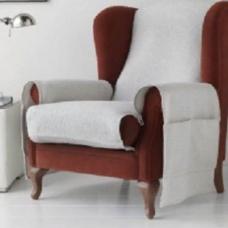 Накидка непромокаемая на кресло Иден светло-серый