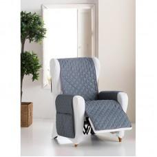 Накидка на кресло Йорк св-серый