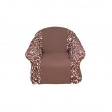 Чехол на кресло Бостон шоколад