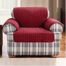 Накидка на кресло Йорк бордо