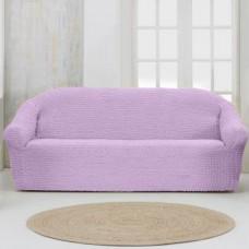 Чехол на четырехместный диван без оборки сухая роза