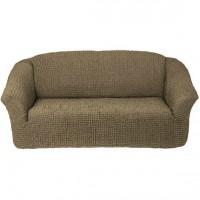 Чехол на четырехместный диван без оборки хаки