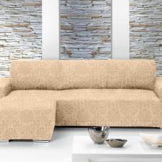 БОГЕМИЯ - МАРФИЛ. Европейский чехол угловой диван с выступом слева