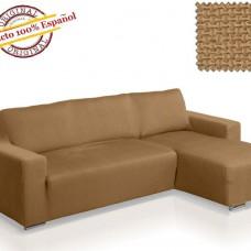 Чехол на угловой диван с выступом справа Европейский АЛЯСКА - БЕЖ