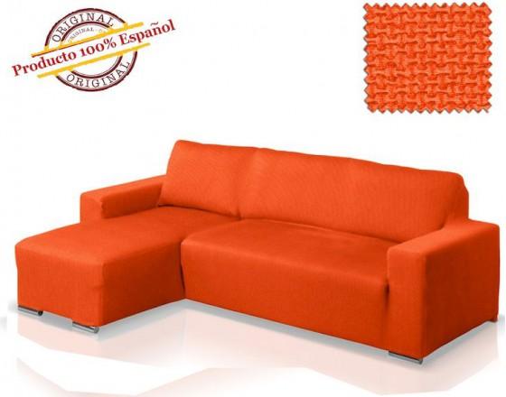 Чехол на угловой диван с выступом слева Европейский АЛЯСКА - НАРАНИЯ