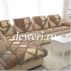 Накидки многофункциональные серо/беж/коричневый BW-03