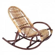 Кресло-качалка плетеное из ивовой лозы Усмань детское