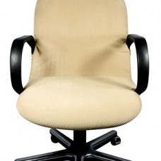 Чехол на компьютерное кресло Бирмингем бежевый