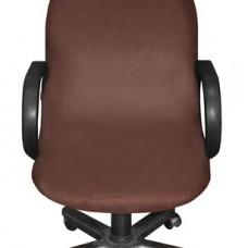 Чехол на компьютерное кресло Лидс шоколад