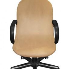 Чехол на компьютерное кресло Лидс бежевый