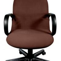 Чехол на компьютерное кресло Бирмингем шоколад