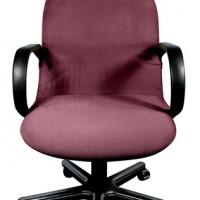 Чехол на компьютерное кресло Бирмингем фиолетовый