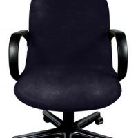 Чехол на компьютерное кресло Бруклин темно-серый