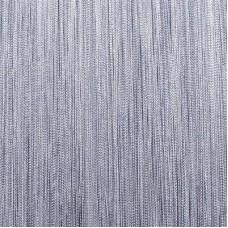 Нитяные шторы однотонные серый TT-104