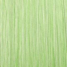 Нитяные шторы однотонные салатовый TT-106