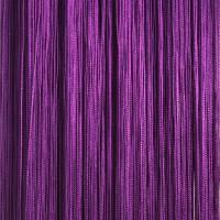 Нитяные шторы однотонные фиолетовый TT-111