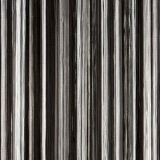 Нитяные шторы, кисея радуга черно-белый TT-300