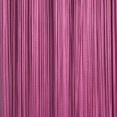 Шторы из нитей однотонные розовый TT-123