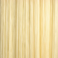 Нитяные шторы однотонные желтый TT-117