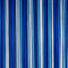 Кисея шторы, радуга синий, голубой, белый TT-306